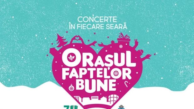 """""""Orasul Faptelor Bune"""" se redeschide in Piata Universitatii din Capitala cu o saptamana de concerte"""